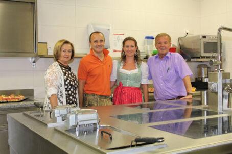 Unser Team, Familie Riegler,